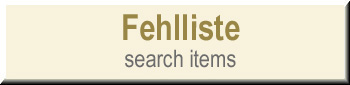 Fehlliste - Search Items